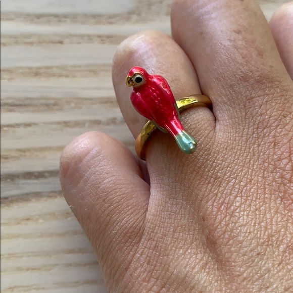 Juicy Couture Jewelry - Pink parrot ring - Juicy Couture